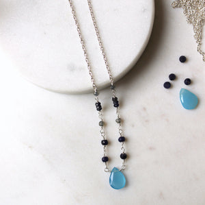 Summer Days in Muskoka Gemstone Necklace