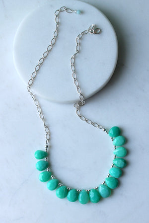 Gemstone Necklace by Nancy Wallis Designs