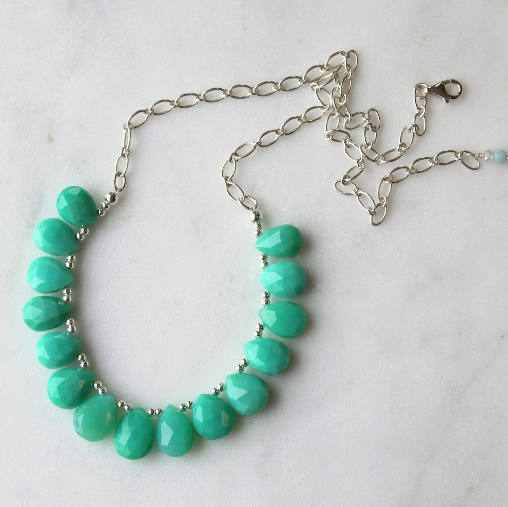 necklace amours en corfu internationales chrysoprase accueil collier