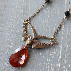Swoop Necklace as seen on The Vampire Diaries