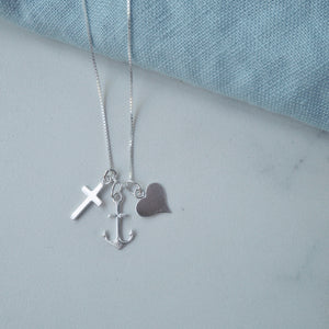 Faith Hope and Love Necklace