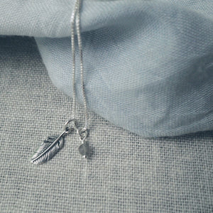 Light as a Feather Silver Necklace