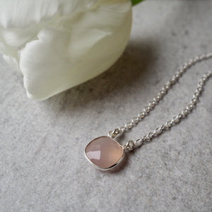 Rose Gemstone Necklace