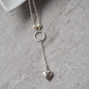 The Veronica Heart Necklace as seen on Riverdale