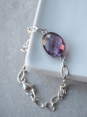 Amethyst Bracelet by Nancy Wallis Designs Whitby Canada