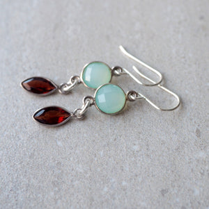 Gemstone Earrings by Wallis Designs in Canada