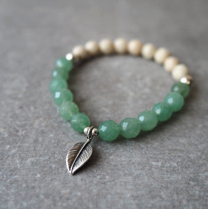 After the Rain Green Gemstone Bracelet