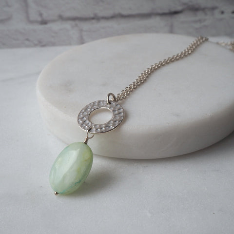 Summer Moments Opal Swing Necklace