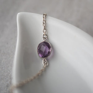 Keep me Safe Amethyst Bracelet