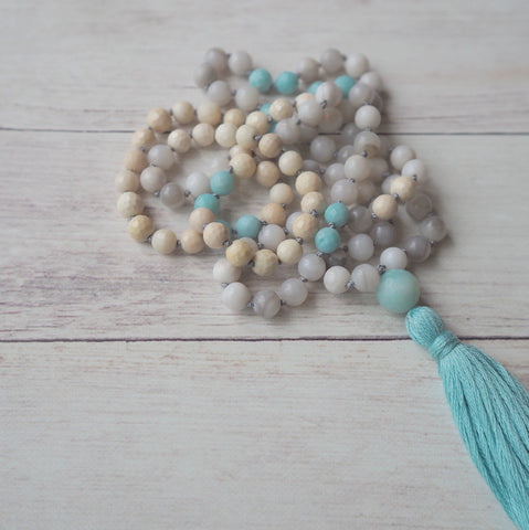 Journey of Truth Mala Necklace handmade in Canada