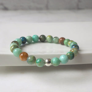 Gemstone Bracelet by Nancy Wallis Designs in Canada