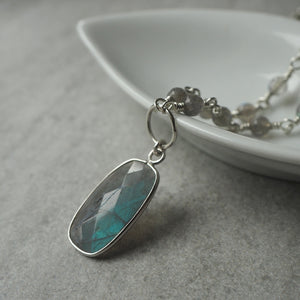 Embrace the World Labradorite Gemstone Necklace