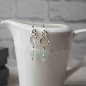 Dainty and Elegant Gemstone Earrings by Wallis Designs