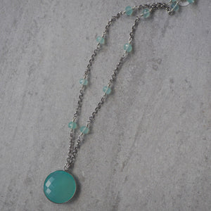 Made in Canada Gemstone Necklace by Nancy Wallis Designs