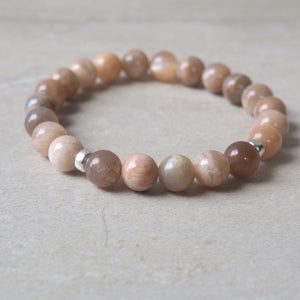 Mixed Moonstone Bracelet by Wallis Designs