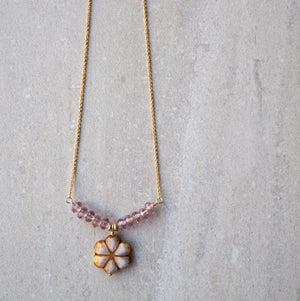 Delicate Flower Necklace