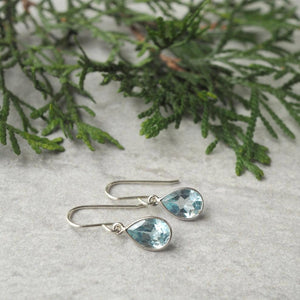 Christmas Holiday Gift Guide Topaz Earrings for her