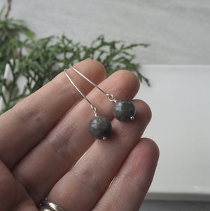 Labradorite Bauble Earrings