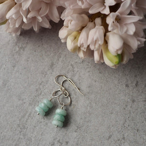 Carefree Amazonite Stacked Earring
