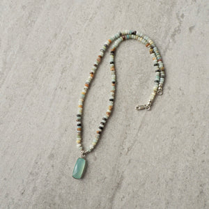 Made in Canada Gemstone Sterling Silver Necklace