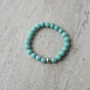 Gemstone Bracelet with Amazonite by Wallis Designs