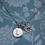 Tiny, Adorable, Sterling Star of David Charm