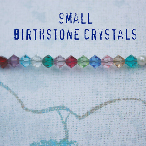 Small Birthstone Charms