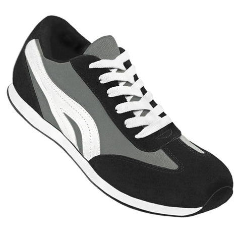 Aris Allen Women's Grey Retro Runner Dance Sneaker - CLEARANCE - *Limited Sizes*