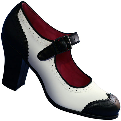Spectator Shoe Wide Women