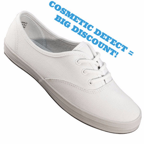 Aris Allen Women's All White Suede Sole Canvas Dance Sneaker - CLEARANCE