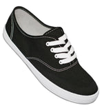 Aris Allen Black Classic Canvas Dance Sneaker - *Limited Sizes*, dancestore.com - 1