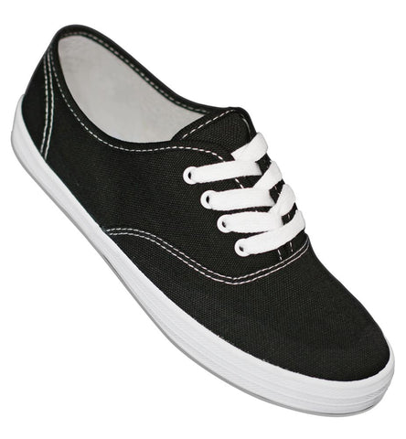 Aris Allen Black Classic Canvas Dance Sneaker *Limited Sizes*