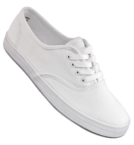 Aris Allen White Classic Canvas Dance Sneaker *Limited Sizes*