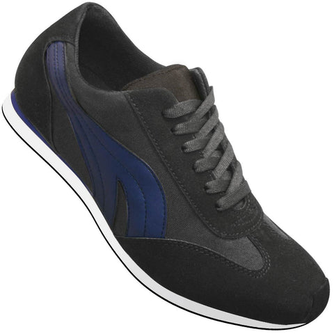 Aris Allen Men's Blue Retro Runner Dance Sneaker