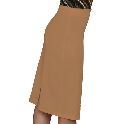 Pencil Skirt - Camel - CLEARANCE - *Limited Sizes*