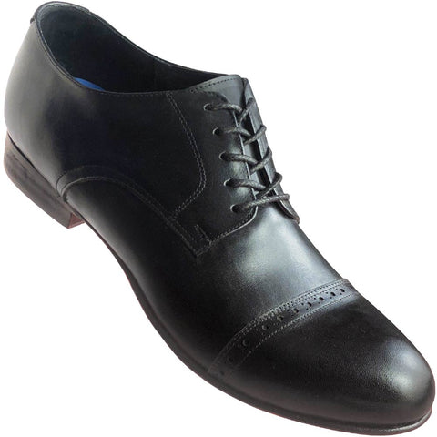 Aris Allen Men's 1932 Black Captoe Swing Dance Shoes
