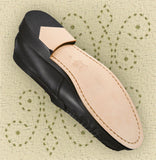 Aris Allen Men's Black Dance Loafers with Special Heel, dancestore.com - 2