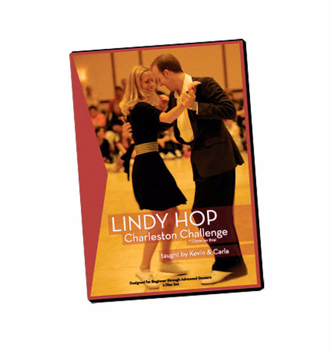 Kevin and Carla Lindy Hop Charleston Challenge DVD, dancestore.com