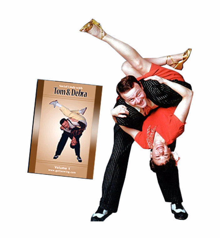 Tom and Debra DVD - Social Lindy, dancestore.com