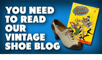 Visit Our Vintage Shoe Blog