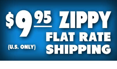 $9.95 Zippy Flat Rate Shipping