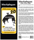 "Black Plague 2.0  Crease Tab 2.8"" or 73mm"