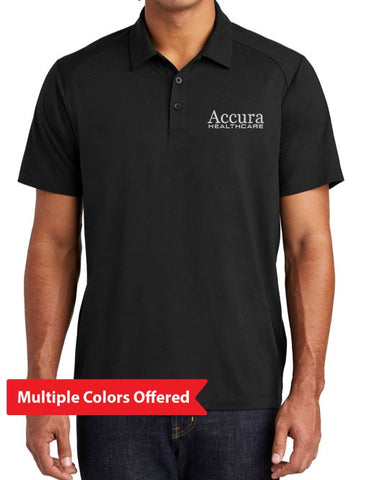 Accura Healthcare - Unisex Tri-Blend Wicking Polo