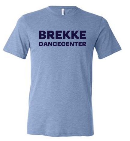 Brekke Dance Store - Adult/Youth Triblend T-Shirt