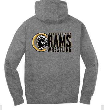 SEP Wrestling - Unisex Pullover Hooded Sweatshirt (Wrestling Design)