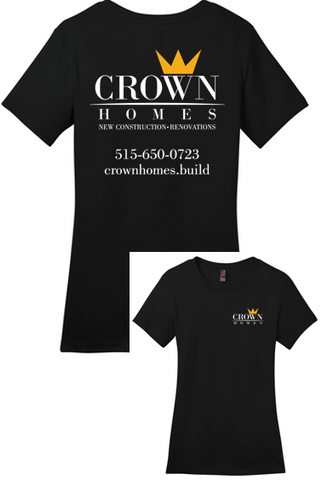 Crown Homes - Ladies Tshirt (Available in Multiple Colors)
