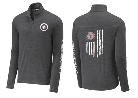 2/34 Infantry Brigade Troop Store - Unisex Exchange 1.5 Long Sleeve 1/2-Zip