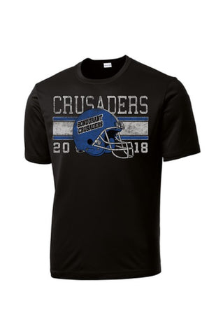 Bondurant Crusader Football - Competitor Tee (Available in Multiple Colors)