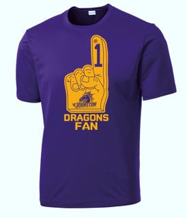 Johnston '18 Fall Order - #1 Dragons Fan (Short Sleeve Competitor)