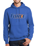 Iowa Elite Force Spring '20 - Youth/Adult Hooded Sweatshirt (Force Design)
